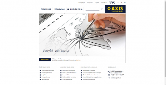 AXIS transport